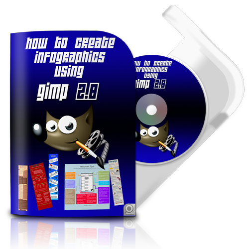 How To Create Info Graphics Using Gimp 2.8